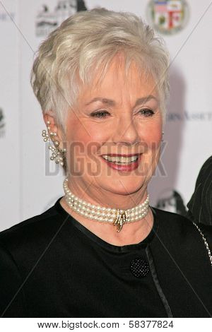 Shirley Jones at the Griffith Observatory Re-Opening Galactic Gala. Griffith Observatory, Los Angeles, CA. 10-29-06
