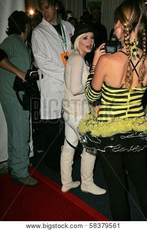 Elisha Cuthbert at Heidi Klum's 7th Annual Halloween Party, Privilege, Los Angeles, CA 10-31-06