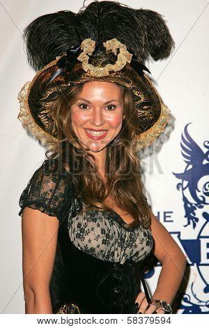Svetlana Metkina at Heidi Klum's 7th Annual Halloween Party, Privilege, Los Angeles, CA 10-31-06