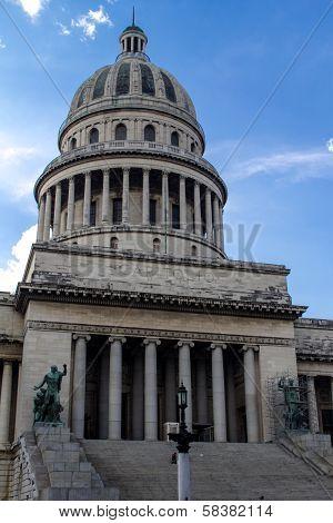 Capitolio In La Havana, Cuba