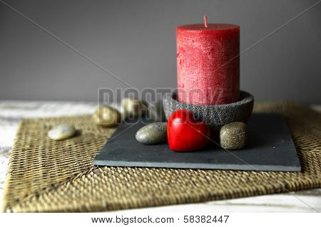 A Candle In The Candlestick