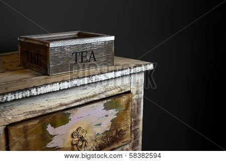 A Rustic Tea Containers