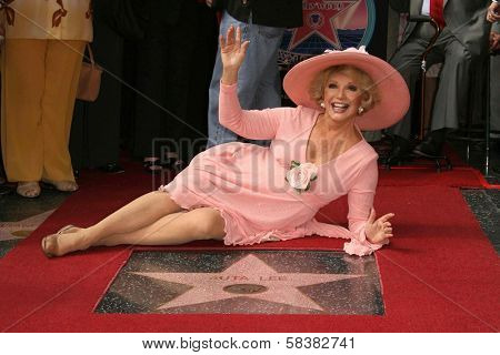 Ruta Lee at the award ceremony honoring Ruta Lee with a star on the Hollywood Walk of Fame. Hollywood Blvd., Hollywood, CA. 10-10-06