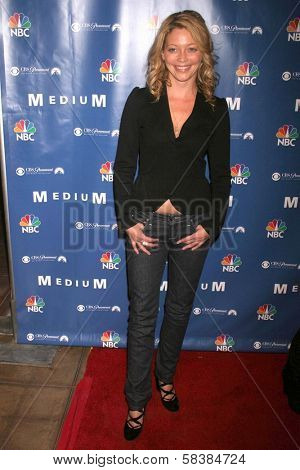 Amanda Detmer at the NBC fall party for the hit drama