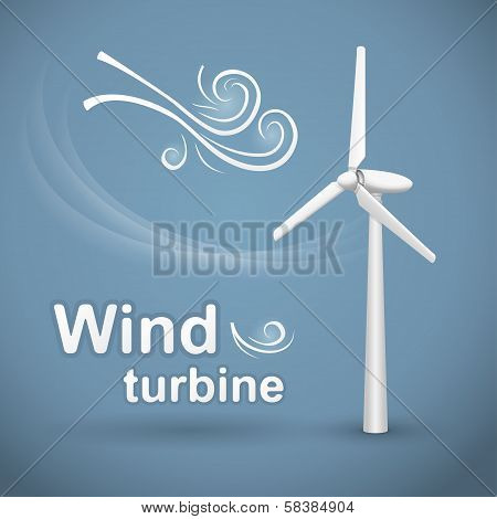 Wind turbine background