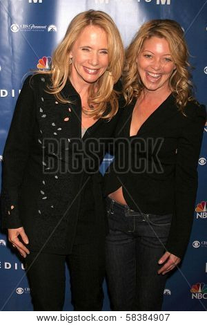 Rosanna Arquette and Amanda Detmer at the NBC fall party for the hit drama