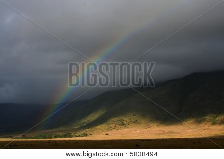 rainbow in tanzania