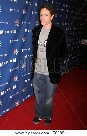 Chris Kattan at the NBC fall party for the hit drama