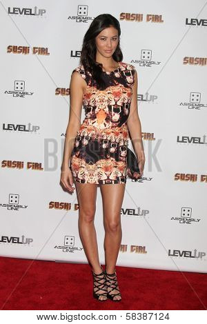 Nicole Sienna at the Premiere Of