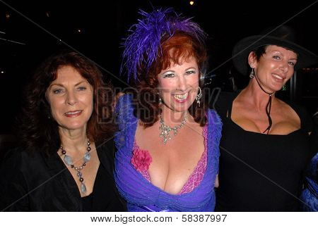 Kay Parker, Annie Sprinkle, Sharon Mitchell at the