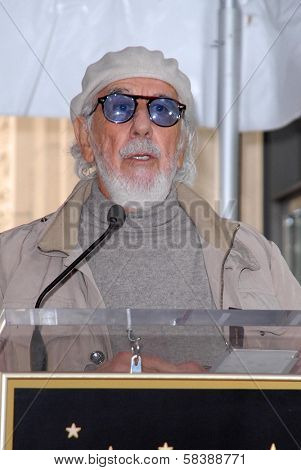 Lou Adler at the Carole King Hollywood Walk Of Fame Ceremony, Hollywood, CA 12-03-12