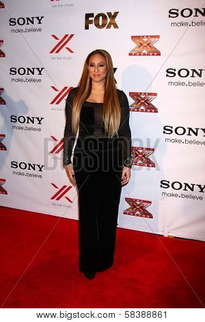 Melanie Amaro at The X-Factor Viewing Party, Mixology, Los Angeles, CA 12-06-12