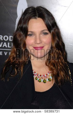 Drew Barrymore at the Rodeo Drive Walk Of Style Honoring BLVGARI, Rodeo Drive, Beverly Hills, CA 12-05-12