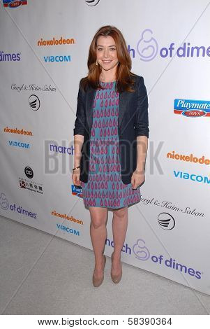 Alyson Hannigan at the 2012 March Of Dimes Celebration Of Babies, Beverly Hills Hotel, Beverly Hills, CA 12-07-12