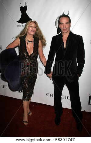 BEL AIR, CA - NOVEMBER 18: Jocelyn Wildenstein and Lloyd Klein at the 5th Annual