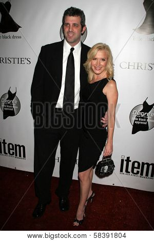 BEL AIR, CA - NOVEMBER 18: Warren Lieberstein and Angela Kinsey at the 5th Annual