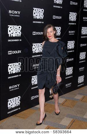 Milla Jovovich at the
