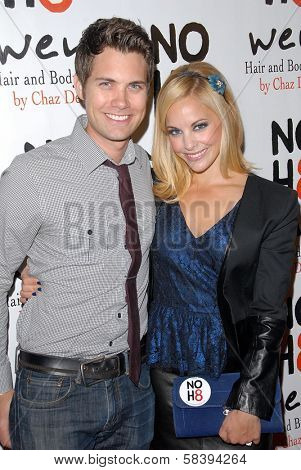 Drew Seeley, Amy Paffrath at the NOH8 Campaign 4th Anniversary Celebration, Avalon, Hollywood, 12-12-12