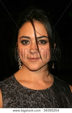WESTWOOD, CA - NOVEMBER 05: Camille Guaty at a Special Presentation of