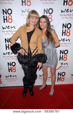 Rena Riffel, Alicia Arden at the NOH8 Campaign 4th Anniversary Celebration, Avalon, Hollywood, 12-12-12
