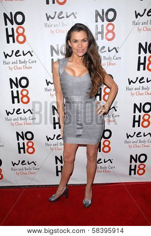 Alicia Arden at the NOH8 Campaign 4th Anniversary Celebration, Avalon, Hollywood, 12-12-12