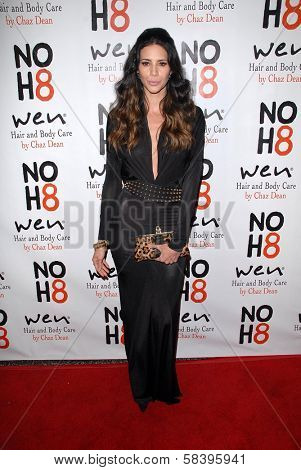Hope Dworaczyk at the NOH8 Campaign 4th Anniversary Celebration, Avalon, Hollywood, 12-12-12