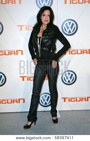 LOS ANGELES - NOVEMBER 28: Christa Campbell at the Volkswagen Concept Tiguan U.S. Launch Party at Raleigh Studios on November 28, 2006 in Hollywood, CA.