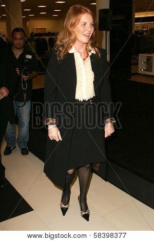 LOS ANGELES - NOVEMBER 3: Sarah Ferguson at the