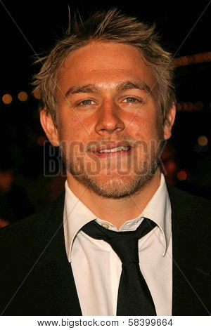 LOS ANGELES - NOVEMBER 16: Charlie Hunnam at the Los Angeles Premiere of