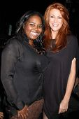 Shar Jackson, Angie Everhart at the Maggie Barry SS 2013 Runway Show, Exchange LA, Los Angeles, CA 1