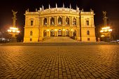 stock photo of mater  - The National Theater  in Prague is known as the alma mater of Czech opera - JPG
