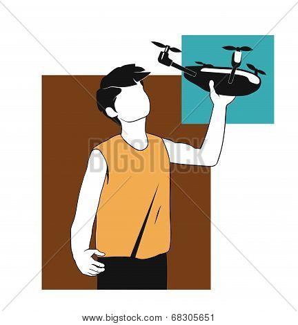 drone launching