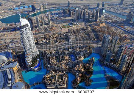 At The Top of Burj Dubai