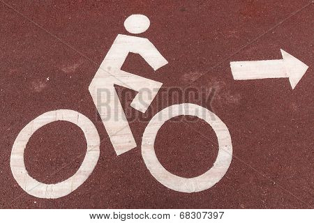 Cyclists Symbol Sign