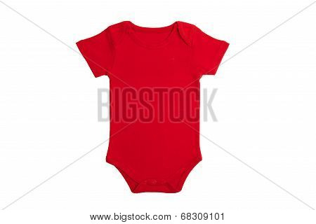 Baby Clothes Red