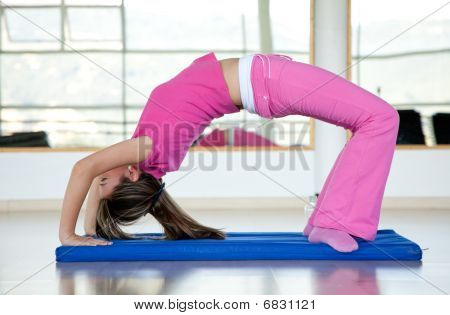 Woman Arching Her Back