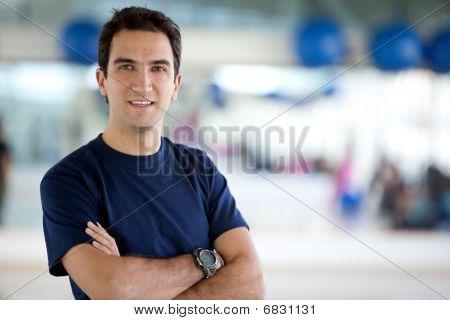 Gym Male Portrait