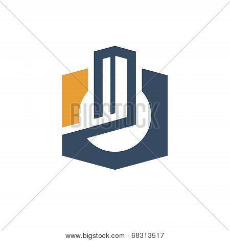 City concept sign