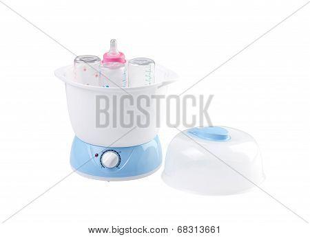 baby bottle steamer machine