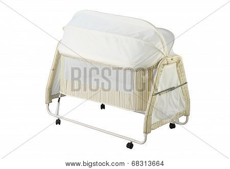 baby cot with mosquito net