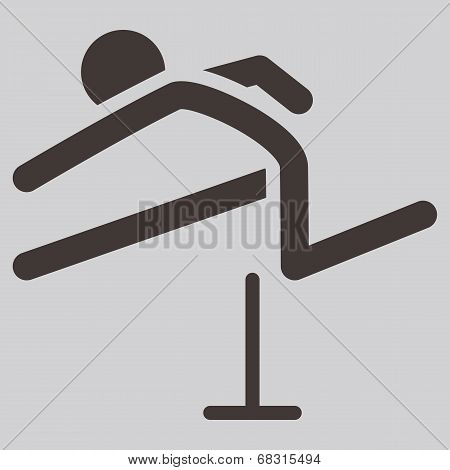 Running Hurdles Icon