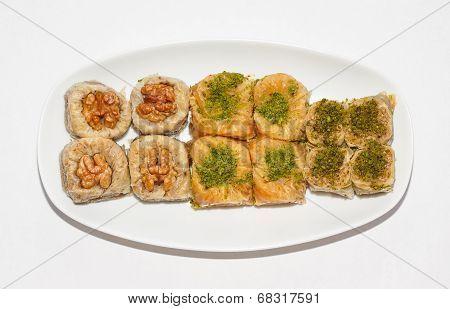 Various Kinds Turkish Baklava