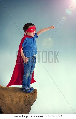 Superhero Boy Child