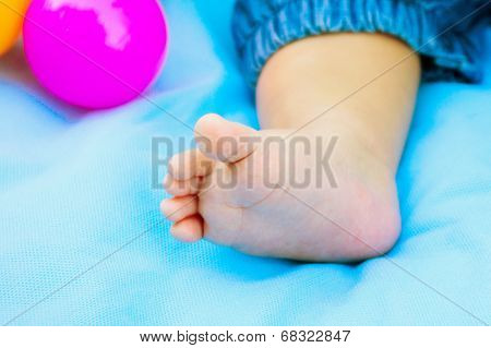 Legs Of The Baby