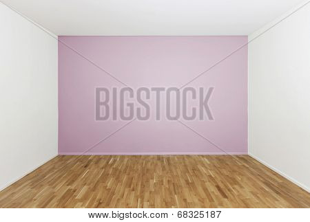 Girls bedroom with no furniture
