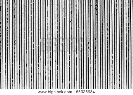 Strips From Soapsuds On A Black Background