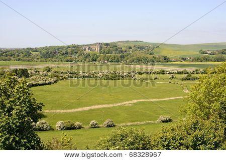 Adur Valley At Shoreham. England