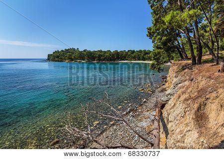 Sea Coast. Kemer. Turkey.