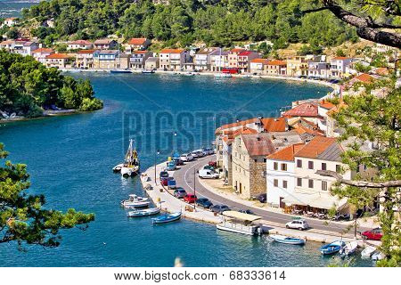 Dalmatian Fisherman Village Of Novigrad