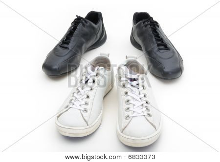 Feminine And Male Gym Shoes